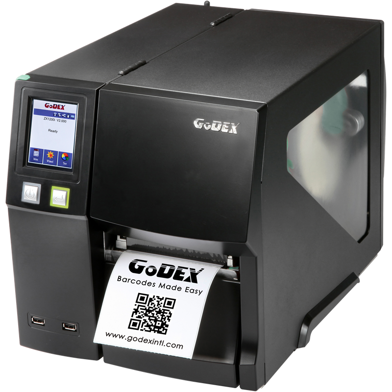 Godex industrial label printers
